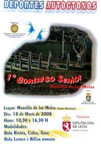 1º Concurso Senior Deportes Autóctonos en Mansilla de las Mulas