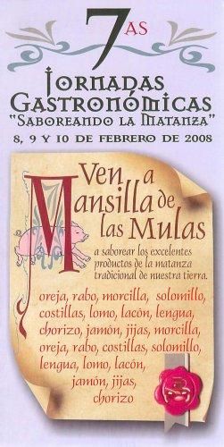 Cartel Jornadas Gastronómicas.