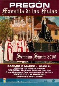Pregón Semana Santa 2008